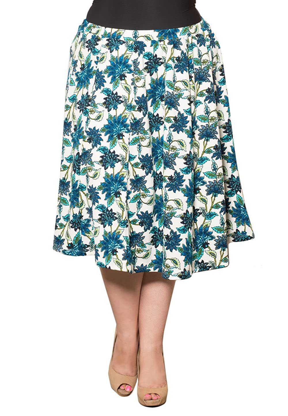 Sealed with A Kiss Designs Womens Plus Size Mandy Skirt mandy-skirt