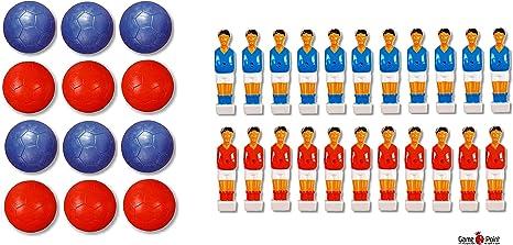 Game Point mesa fútbol de figuras de futbolín Kit de iniciación, apto ...