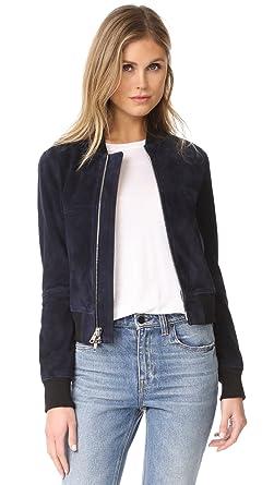 Amazon.com: Theory Women's Daryette S Bomber Jacket: Clothing