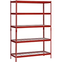 Muscle Rack 5-Shelf Steel Shelving Unit 48
