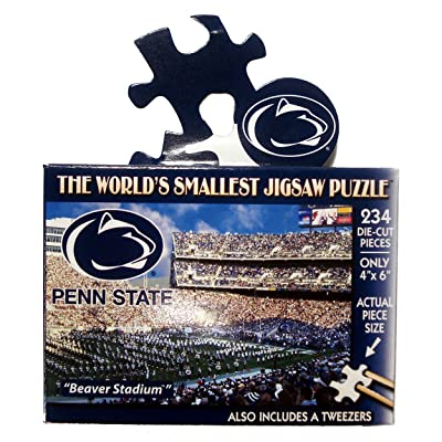 NCAA Penn State Nittany Lions World's Smallest Puzzle : Jigsaw Puzzles : Sports & Outdoors