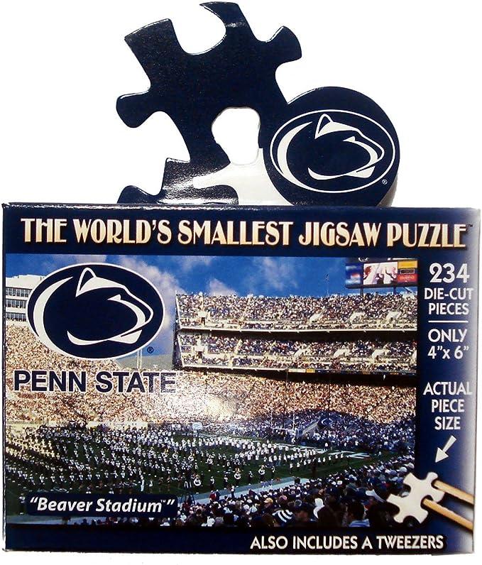 Psu Academic Calendar 2022.D4 World S Smallest Puzzles Penn State Pieces 234 Toys Hobbies Contemporary Puzzles