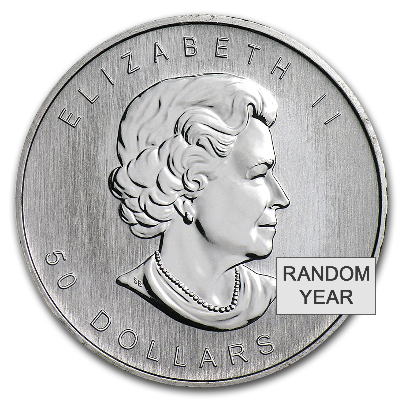 1//4 oz Platinum Maple Leaf Canada Canadian Random Year $10 BU .9995