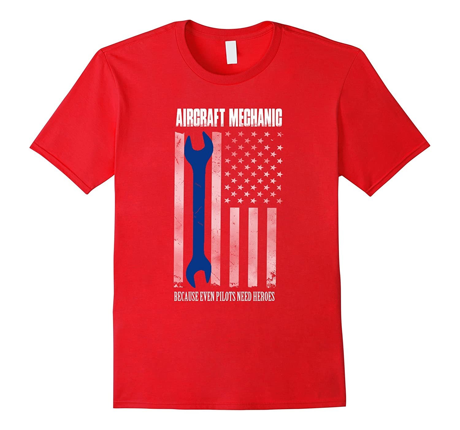 Aircraft mechanic shirts Us flag-TJ