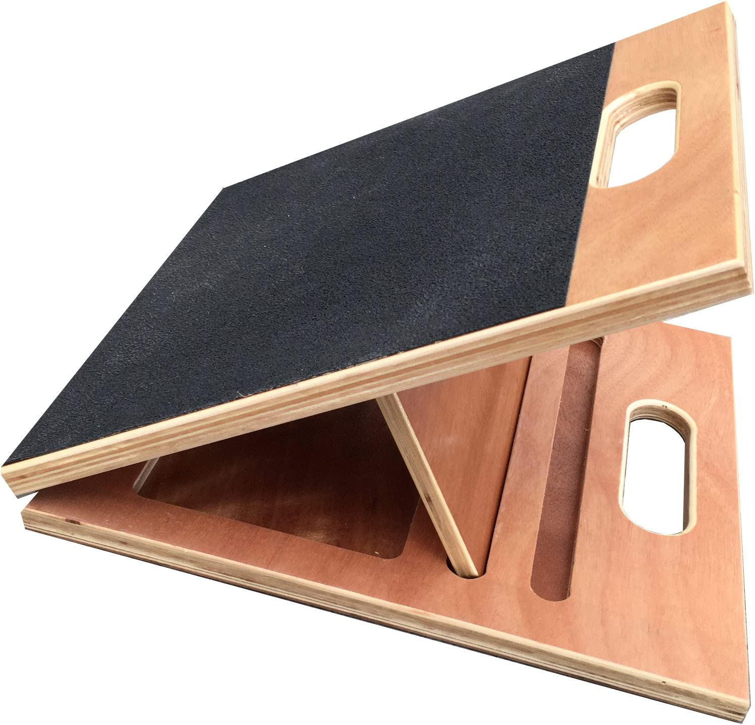 """BodyKore Posturenomic Slant Board- 13"""" Width (Large)- 4 Settings 26°, 38°, 42°- Fully Collapsible to 2"""" Width w/Carrying Handle- Beautiful Finish (350lb Weight Limit) 1 Year Warranty!"""