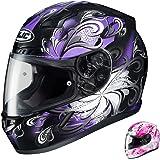 HJC CL-17 Cosmos - Womens' Full-Face Street Motorcycle Helmet - Purple - Medium