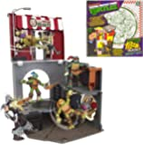 Tortues Ninja – Pop Up Pizza Playset – Anchovy Alley (Import Royaume-Uni)