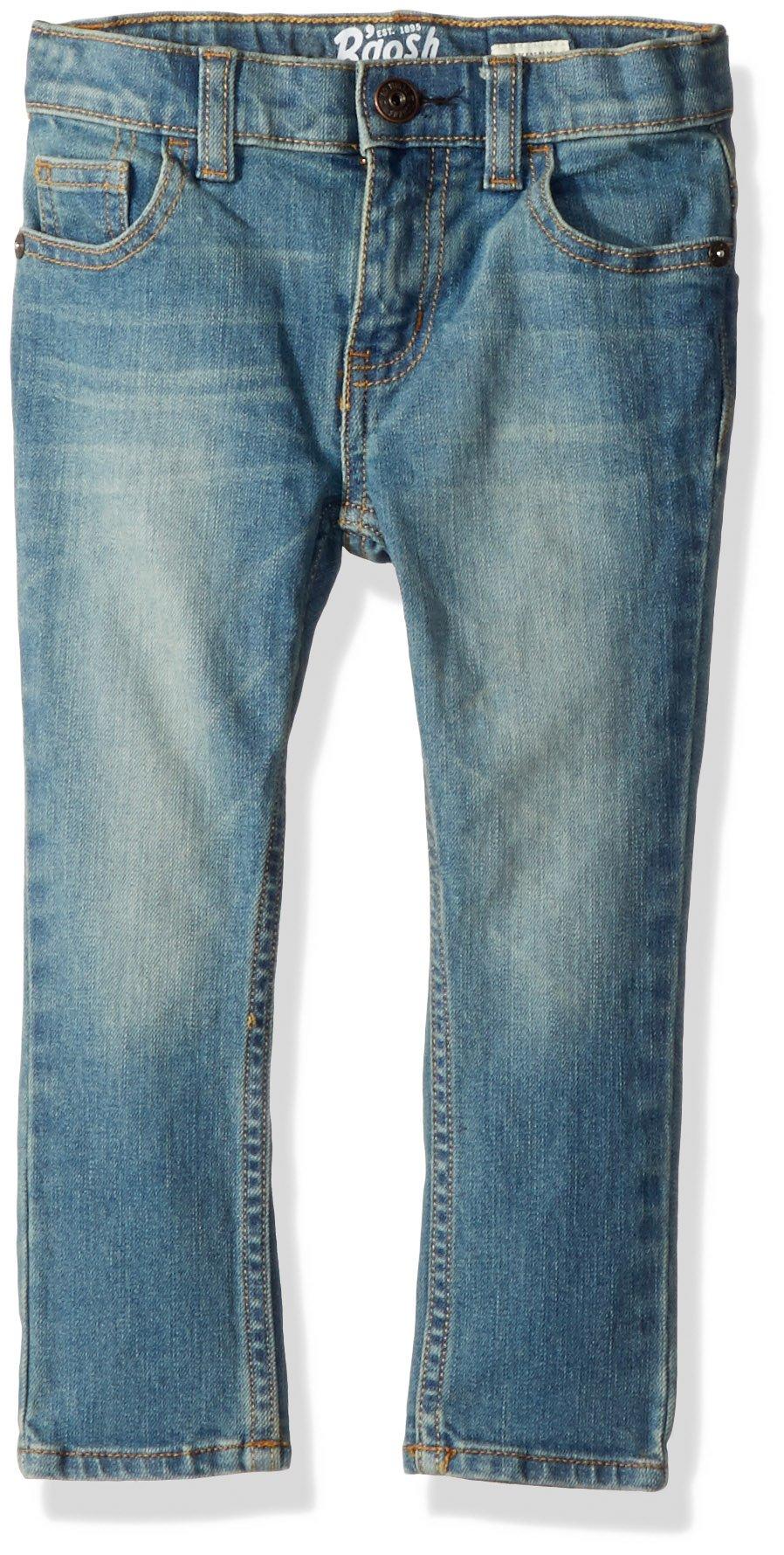 Osh Kosh Boys' Toddler Skinny Jeans, Tumbled Light, 5T