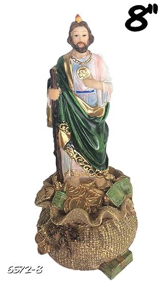 amazon com saint jude on money sack san judas tadeo st statue