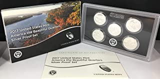 2017 S United States Mint America the Beautiful Quarters Silver Proof Set US Mint Packaged