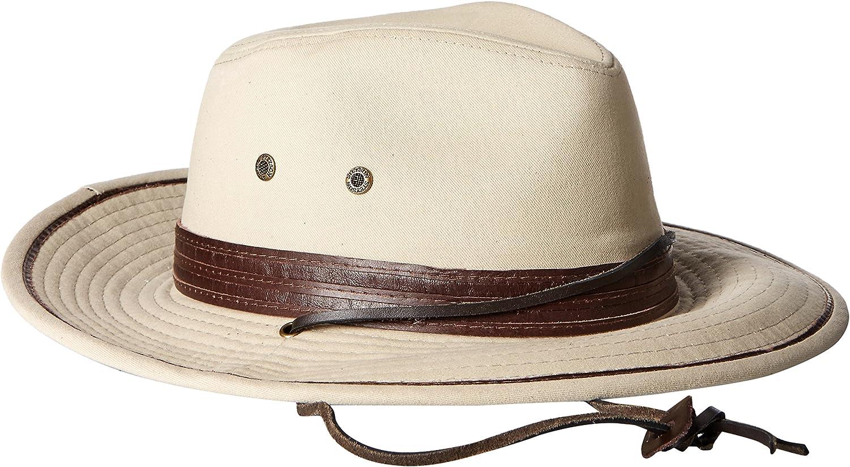 Stetson Mens Safari Twill Hat