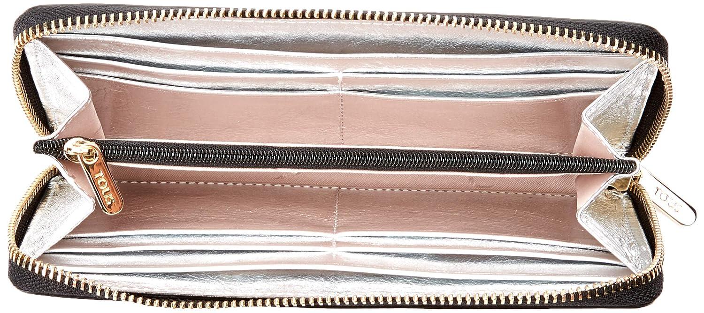 Tous Tulia Crack - Cartera para Mujer, Plata, 19.5 x 10 x 2 cm