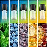myblu 互換 フレーバーポッド 5種風味 メンソール ビタミン配合 リキッド 集合① マウスピース付き ARASHI