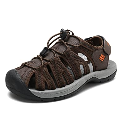 0c8520128a23 DREAM PAIRS Women s 160912-W-NEW Brown BLK Orange Adventurous Summer  Outdoor Sandals Size