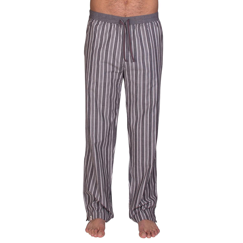 Pantalones de pijama de Luca David Olden Glory con cómodo, corte amplio y bonito diseño vintage de 100% algodón suave: Amazon.es: Ropa y accesorios