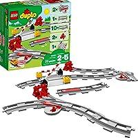 Deals on LEGO DUPLO Train Tracks 10882 Building Blocks 23 Pc