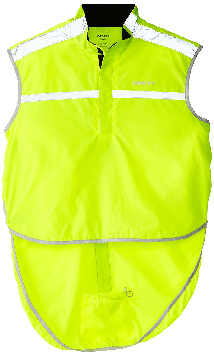 d6d2affa Craft Bike Visibility Vest, Neon, X-Small/Small: Amazon.co.uk: Sports &  Outdoors