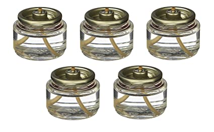8 Hour Tea Light Fuel Cell Oil Candle Cartridge Disposable Liquid Paraffin Set Of 180