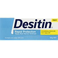 Desitin Rapid Relief Nappy Rash Ointment Cream, 100g