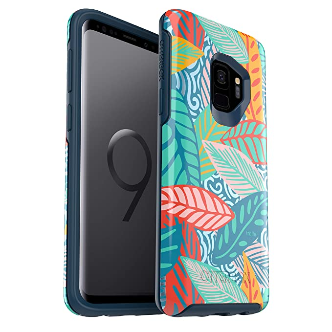 quality design 54eaf 46095 OtterBox Symmetry Series Case for Samsung Galaxy S9 - Retail Packaging -  Anegada by Trèfle
