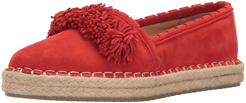 Sam Edelman Women's ISSA Loafer Flat B01LZNFH4Z 10 B(M) US Havana Red Suede