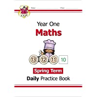 New KS1 Maths Daily Practice Book: Year 1 - Spring Term