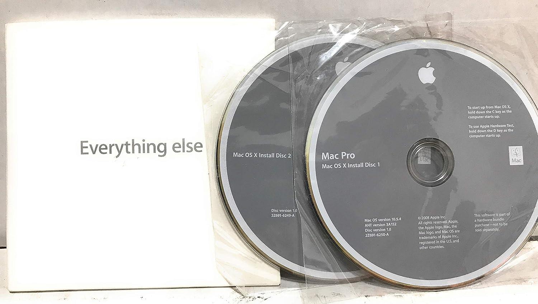 Apple Mac OS X 10.5.4 Leopard Full Install DVD