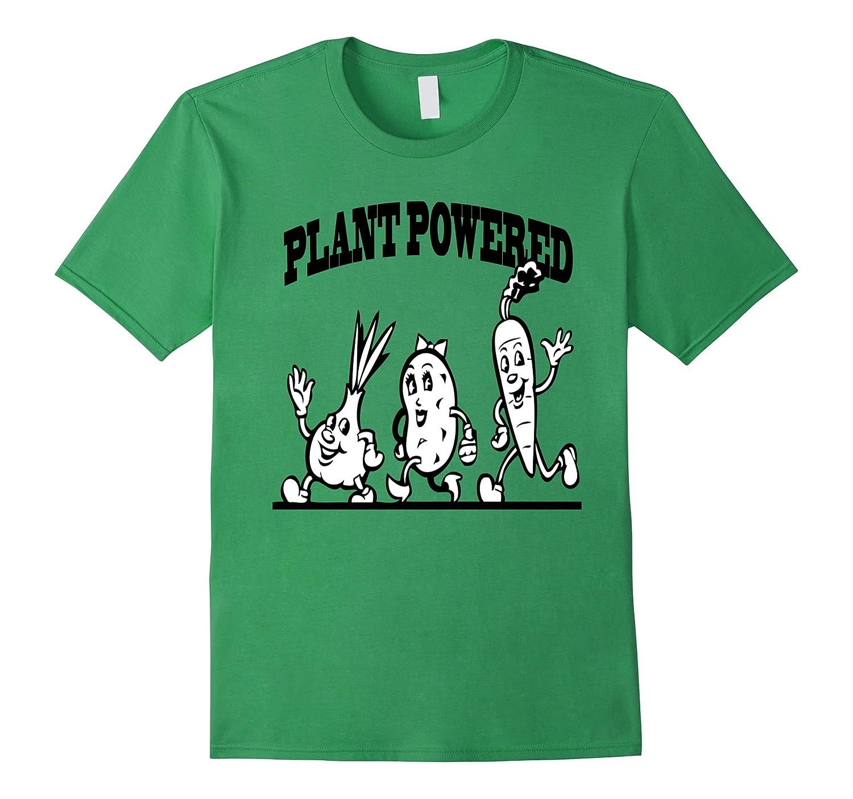Plant Powered Vegetarian T Shirt-TD