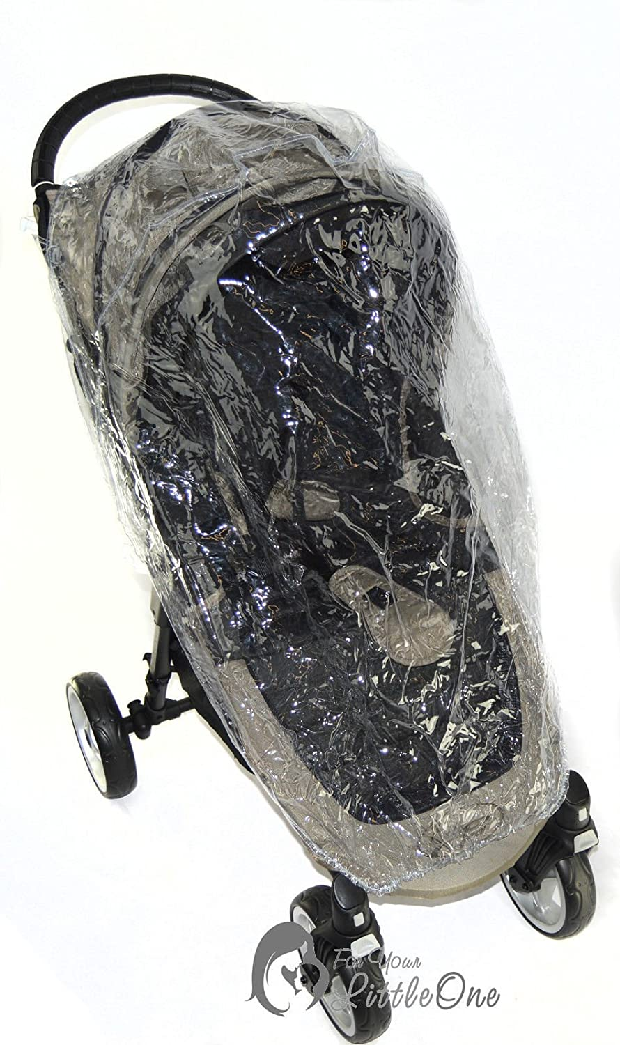Raincover Compatible with Baby Jogger City Mini 4 Wheel Buggy For-Your-Little-One