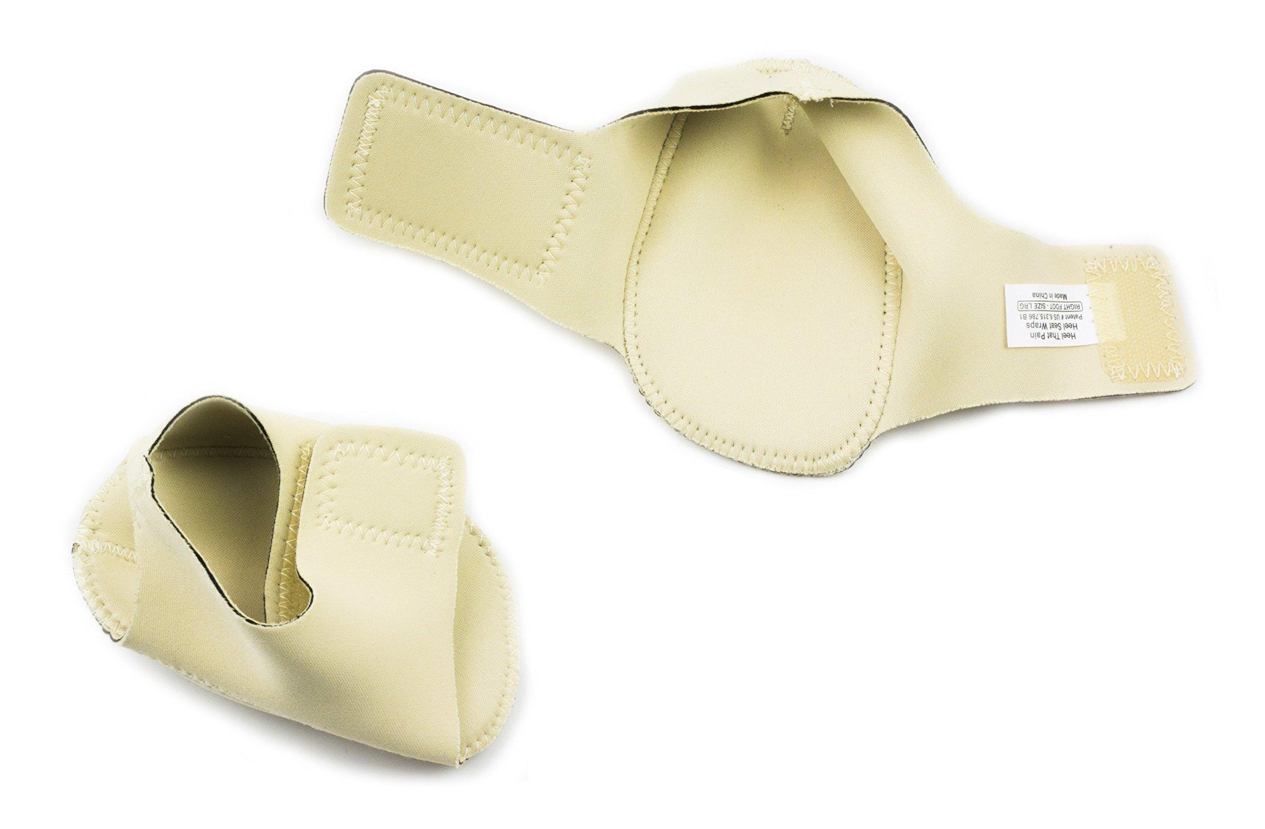 1586b6827fb94e Heel That Pain Heel Seat Wraps for Plantar Fasciitis and Heel Spurs ...