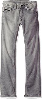 Diesel Boys Thanaz-j 5 Pocket Jean Jeans Denim Nero 10 Diesel Children's Apparel 00J3AGKXA5W-K02-10