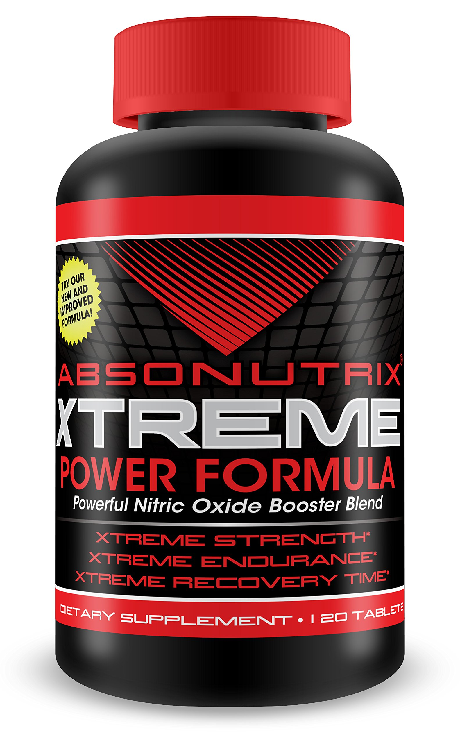 Absonutrix Extreme nitric oxide power blend - 3000mg of Power - 120 Tablets! Xtreme Strength -Xtreme Endurance - Xtreme Recovery Time - 60 Day Money Back Guarantee!!!