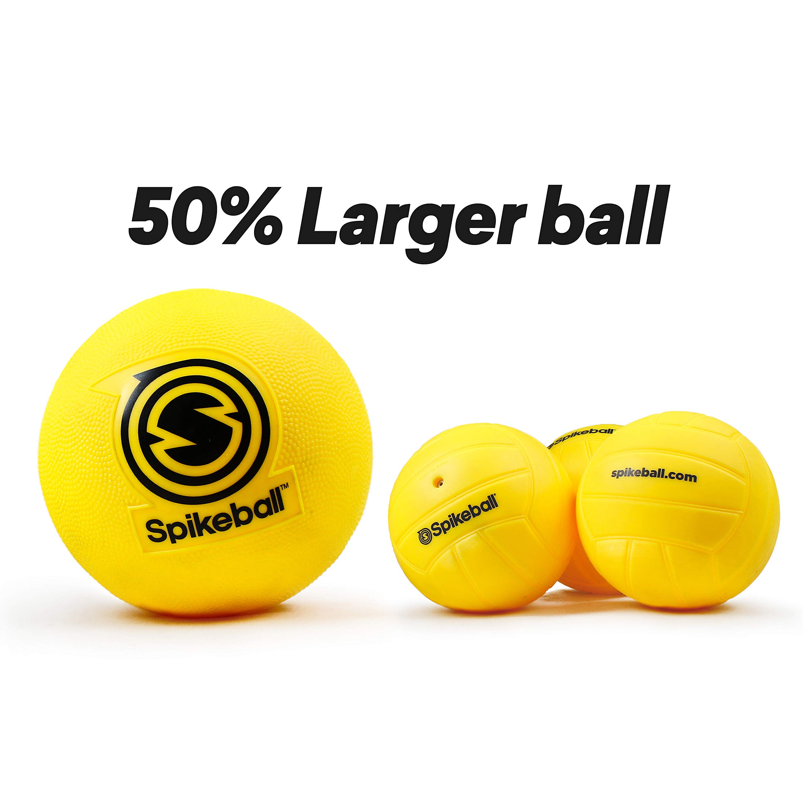 Spikeball Starter Kit - 50% Larger Net and Ball - Played Outdoors, Indoors, Yard, Lawn, Beach - Designed for Kids 12 and Under by Spikeball (Image #3)