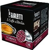 16 Capsule Alluminio I Caffe' D'Italia Bialetti Mokespresso Torino Originali