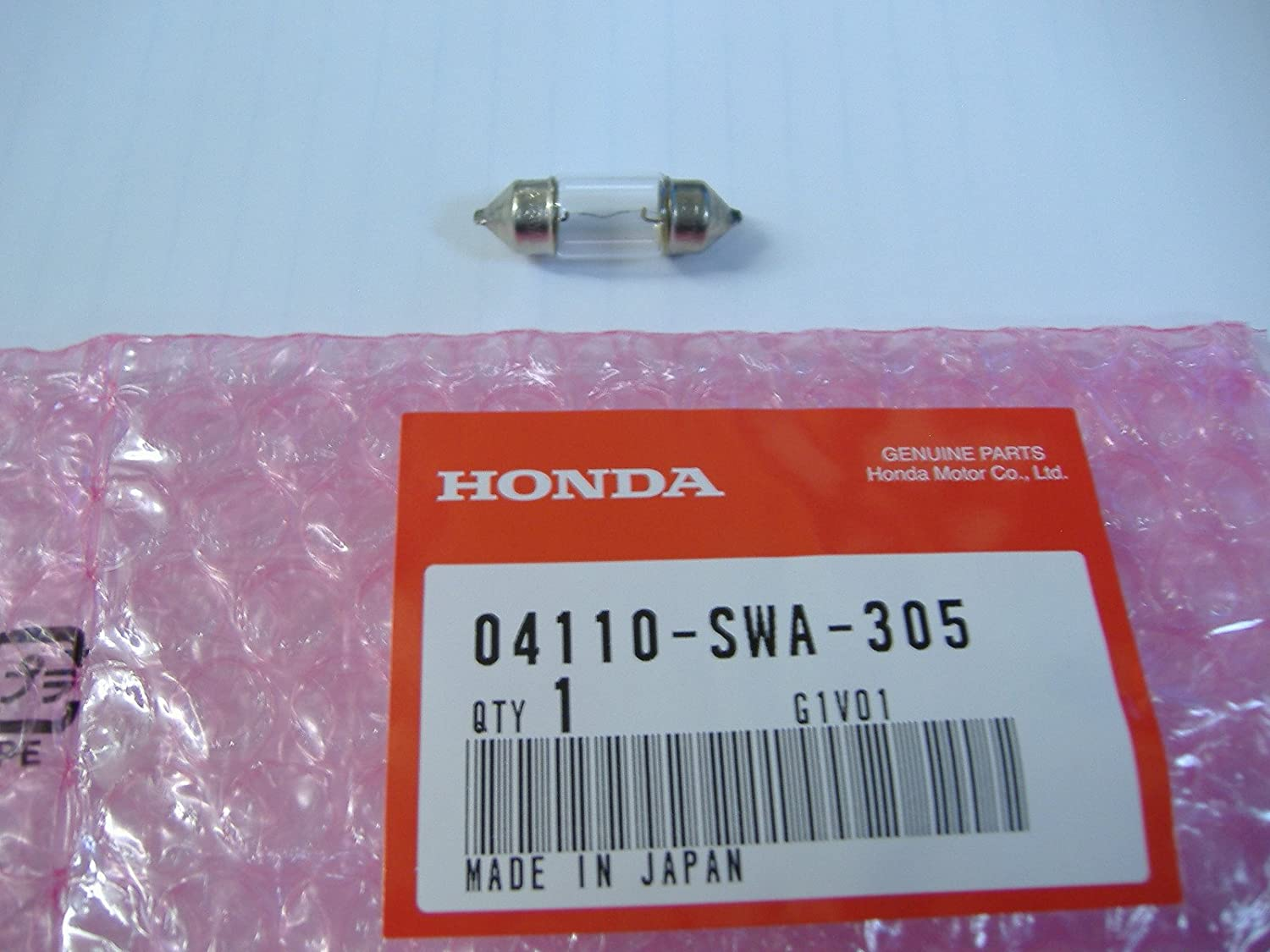 Honda Genuine Oem Dome Light Map Bulb 04110 Swa 1991 Accord Fuse Box Location 305 Automotive