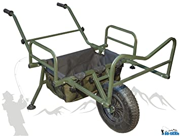 DD-Tackle XL Big Wheel Carp Barrow Carrito de Transporte para Carpas