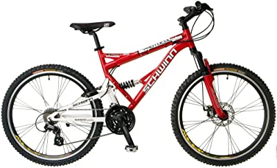 Schwinn Protocol 1.0 Men's Dual-Suspension Mountain Bike (26-Inch Wheels)