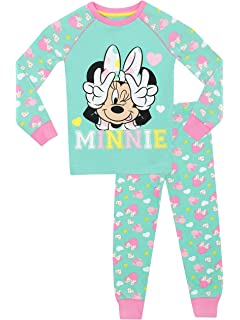 Disney Minnie Mouse Diamonds Girls 2 pc Short Sleeve Pajama Sleepwear Set f6f45ea00