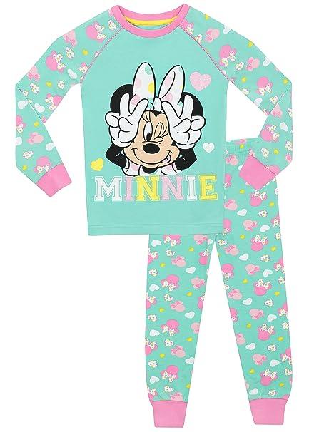 Disney Minnie Mouse - Pijama para niñas - Minnie Mouse - Ajust Ceñido - 2 -