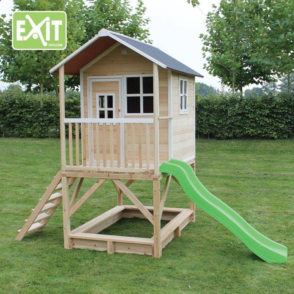 ofreciendo 100% EXIT EXIT EXIT Loft 500 - casas de juguete (Casa de juegos sobre pilares, Niño niña, verde, gris, Color blancoo, Madera, Madera, EN-71, 280 x 1845 x 160 mm)  comprar marca