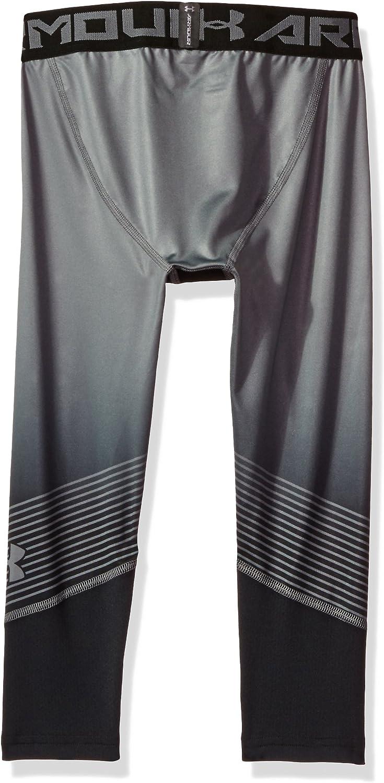 Under Armor Boys HeatGear Armour Printed /¾ Leggings