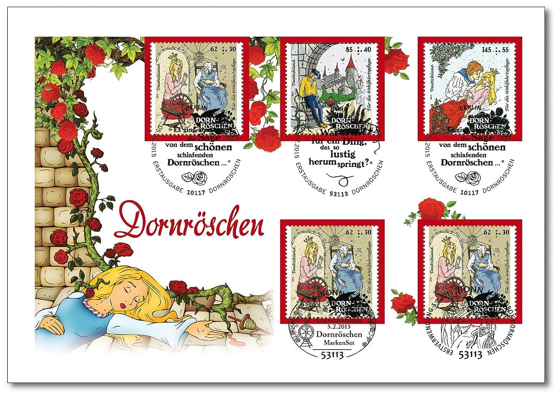 Grimms Marchen Dornroschen Luxusbrief Exklusiv Bei Hermann E