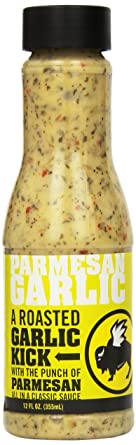 Buffalo Wild Wings Sauce (Parmesan Garlic), 12 Ounce