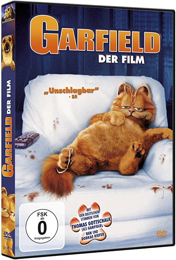 Dvd Garfield Amazon Ca Dvd