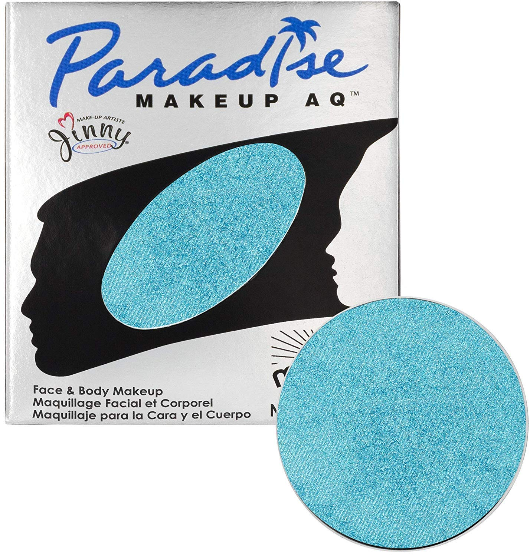 Mehron Makeup Paradise Makeup AQ Refill (.25 oz) (BRILLANT BLEU BEBE/LIGHT BLUE)