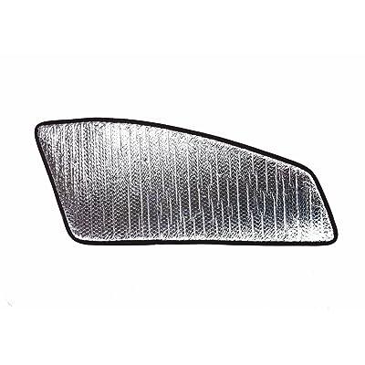 Set of 2 Custom Fit Automotive Reflective Front Seat Side Window Sunshade for 2014 2015 2016 2020 2020 2020 Toyota Highlander SUV: Automotive