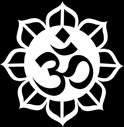 Amazon Om Ohm Religious Symbol Sticker Decal India Hinduism
