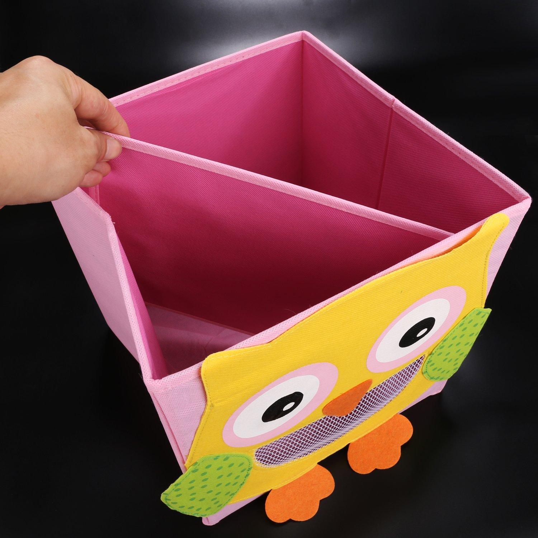 LEADSTAR Faltbare Spielzeugkiste Aufbewahrungsbox Wäschesammler Korb ...