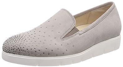 10102b9b0cc4 Gabor Shoes Damen Comfort Sport Geschlossene Ballerinas, Mehrfarbig (Puder  (Strass), 35.5