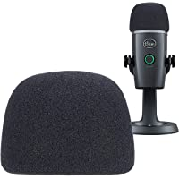 YOUSHARES Microphone Foam Windscreen - Mic Wind Cover Pop Filter Foam Cover, Professional Customized for Blue Yeti Nano